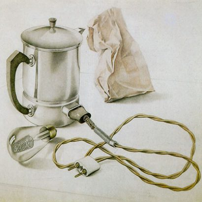 رودلف دیشینگر / کتری برقیRudolf Dischinger / Electric Kettle - 1931