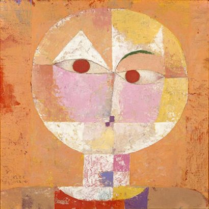 Senecio Poster by Paul Klee