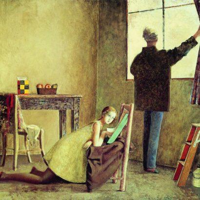 بالتوس نقاش و مدلش balthus the painter and his model-1981