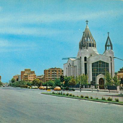 کارت پستال خیابان کریمخان زند ۱۳۵۰