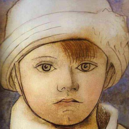 پابلو پیکاسو پسر هنرمند-۱۹۲۳ pablo picasso
