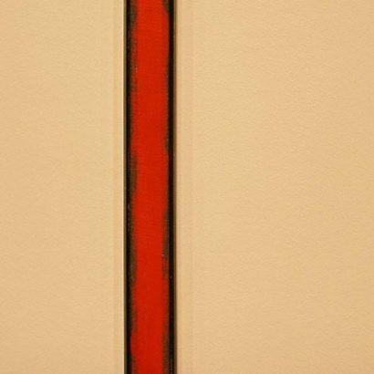 Barnett Newman اثری از بارنت نیومن نقاشی انتزاعی اکسپرسیونیسم انتراعی نقاشی آمریکایی