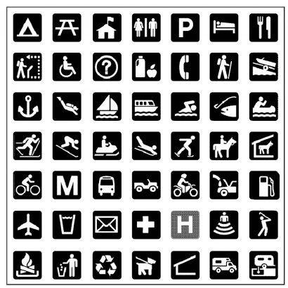 نشانهها و طراحی گرافیک محیطی