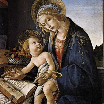 ساندرو بوتیچلی botticelli virgin mar and child