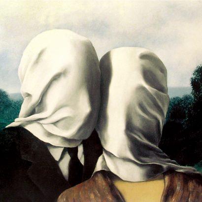 رنه مگریت عشاق the lovers-1928