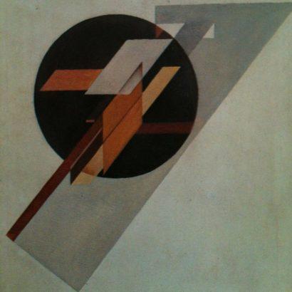 گوستاو کلوتسیس نقاشی آکسیومتریک gustav klutsis-1920