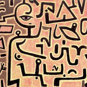 paul klee-intentions پل کله. اثری از پل کله هنرمند مدرنیست آلمانی