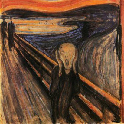 the scream جیغ از ادوارد مونش