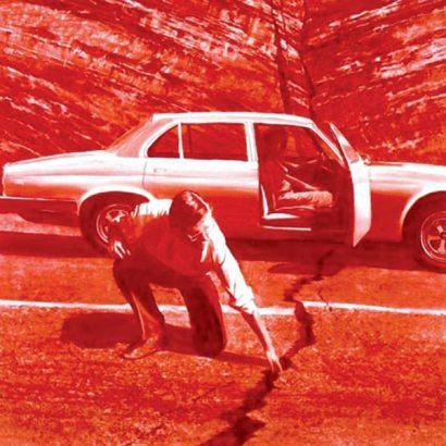 Mark Tensey doubting thomas-1987, oil on canvas مارک تنسی/ شک توماس، ۱۹۸۷. رنگروغن روی بوم / تصاویر در پرسش / داریوش خادمی