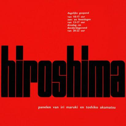 1957-hiroshima/ Wim Crowel Designs