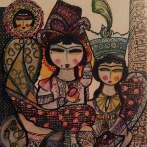 هنر معاصر ایران، هویت در هنر ایران، بهرنگ پورحسینی