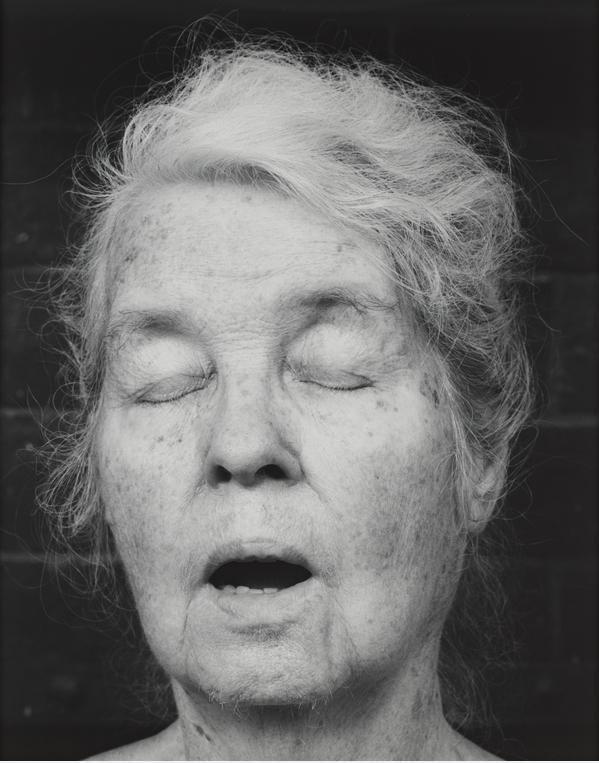 Alice Neel. 1984. Robert Mapplethorpe. Photography. silver gelatin print (edition of 10 + 2 AP)