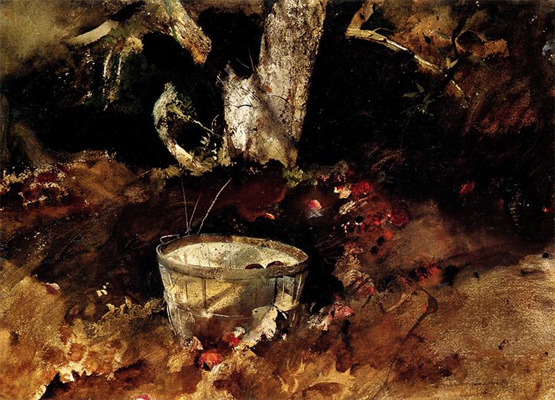 بوشلنیمه اثری است از اندرو وایت نقاش رئالیست آمریکایی