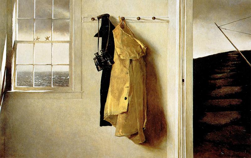 اثر «طوفان» (۱۹۸۶)، از اندرو وایت نقاش آمریکایی