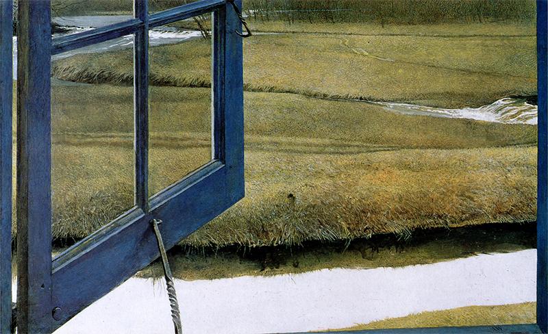 اندرو وایت این اثر را با عنوان عشق عصرگاهی در سال ۱۹۹۲ با تکنیک تمپرا کار کرده است.