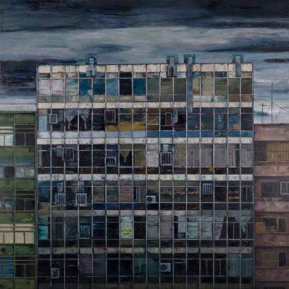 جواد مدرسی / ساختمان تولیدی پوشاک / 1389