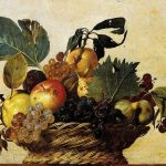Basket of Fruit is a still life painting by the Italian Baroque master Michelangelo Merisi da Caravaggio