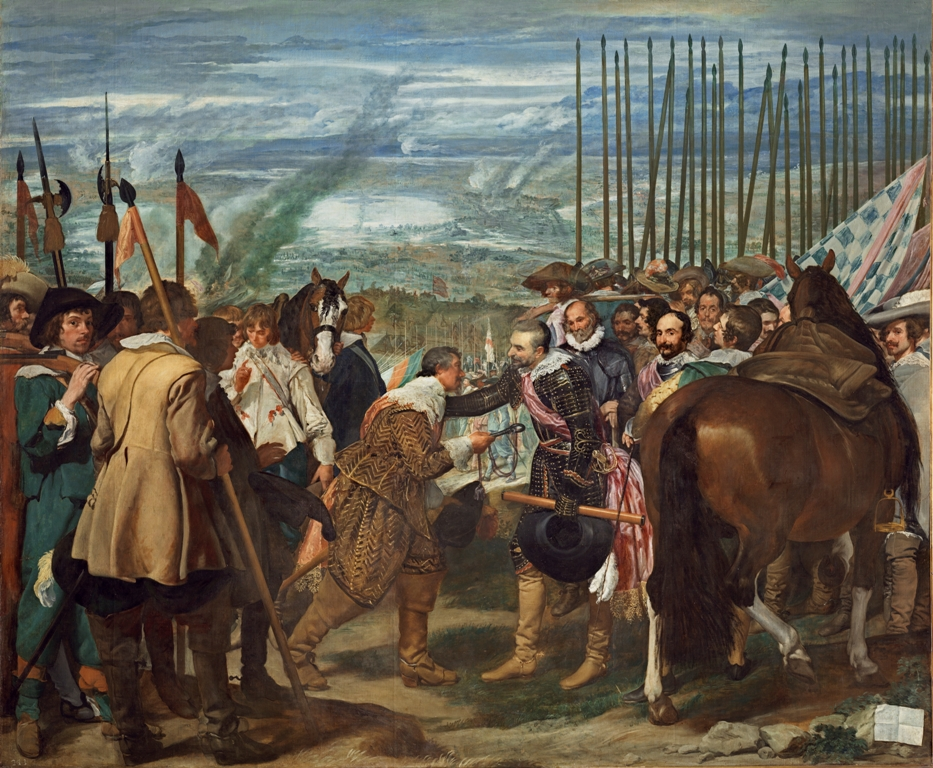 Diego Velázquez, The Surrender of Breda, 1634-35