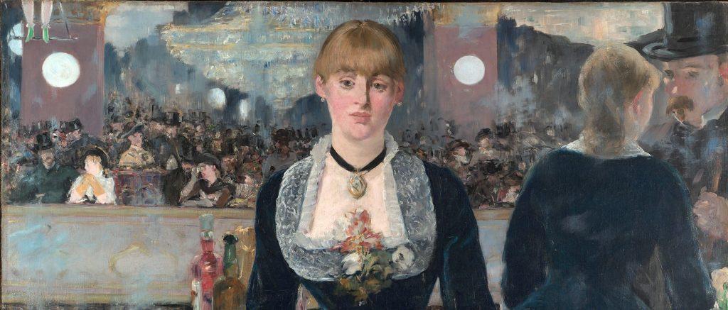 ادئوار مانه، بار فولی برژه، ۱۸۸۲ (جزئی از اثر)