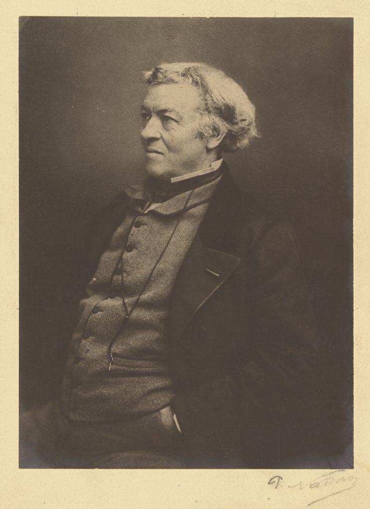 تصویر 14: نادار، ژان باتیست کُرو، چاپ پلاتینیوم (پلاتینوتایپ)، 9-1855 م.