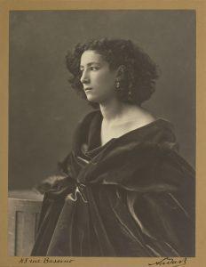 تصویر 22: نادار، سارا برنار، چاپ نقره ژلاتینی، حدود 1864 م.
