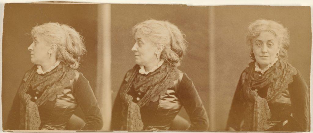 تصویر 34: نادار، ارنِستین لُفور، 7/8 در 21 سانتیمتر، چاپ آلبومن، 83-1880 م.