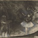 Edgar Degas: A Strange New Beauty | MoMA Edgar Degas Artwork | Prints & Monotype Pieces by Painter مونوتایپ‌های ادگار دگا چاپ دستی نقاشی قرن نوزدهم