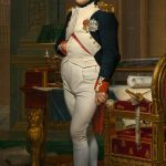 The Emperor Napoleon in His Study at the Tuileries,