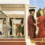 Piero della Francesca - The Flagellation, 1453-1460