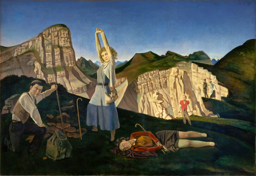 2. The Mountain, Balthus (Balthasar Klossowski), 1982
