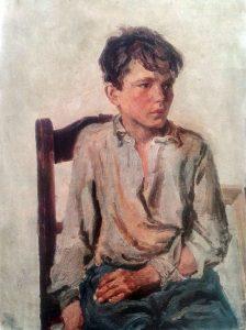 آرکادی پلاستوف، علفچینی، ۱۹۴۵ plastov_haymaking Haymaking by Arkady Plastov russian painting realism