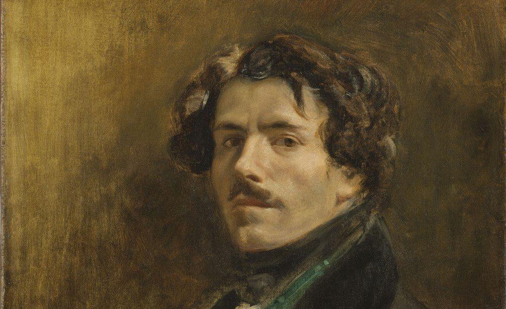 eugene delacroix، اوژن دلاکروا، نقاشی تاریخی، رمانتیسیسم، پرتره