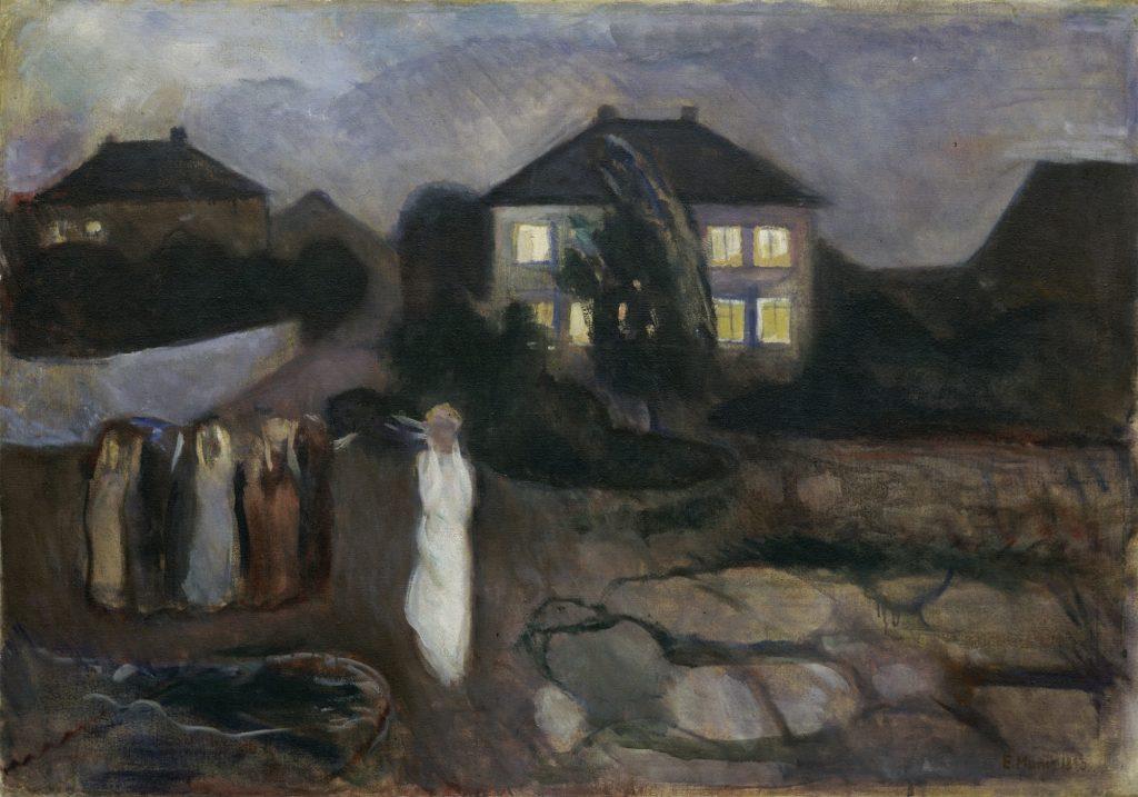 the storm, munch-min، ادوارد مونک و ۲۷ اثر او