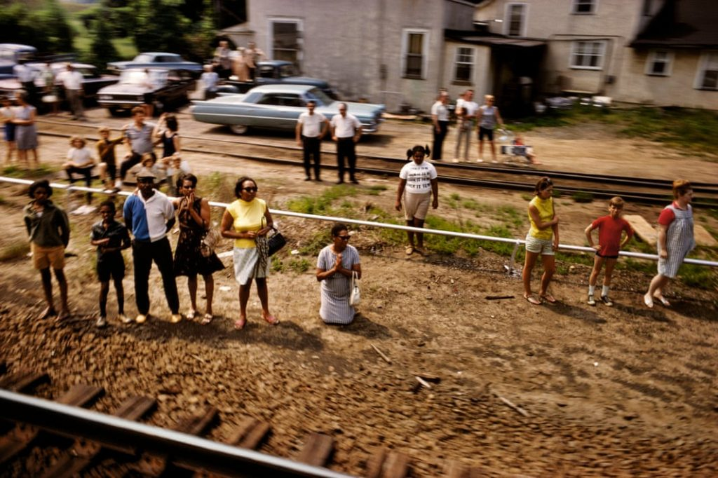 پل فیوسکو، مجموعهی «قطار تشییع پیکر آر. اِف. کِی.»، امریکا، 1968 م.