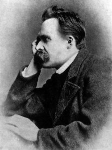 فردریش نیچه، عکس از گوستاو آدولف شولتزه، ۱۸۸۲
