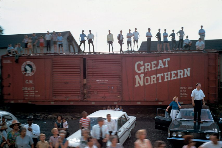 مجموعهی «قطار تشییع پیکر آر. اِف. کِی.»، امریکا، 1968 م.