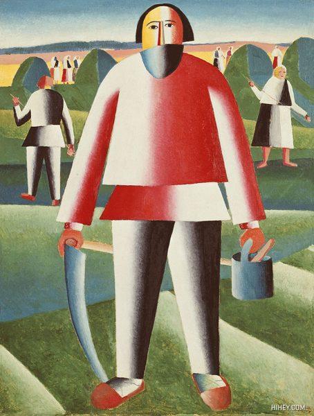 دروگر (۱۹۳۰)، کازیمیر مالِویچ