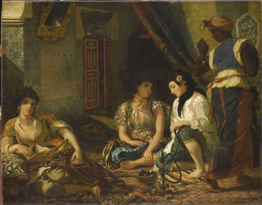 زنان الجزایری، ۱۸۳۴