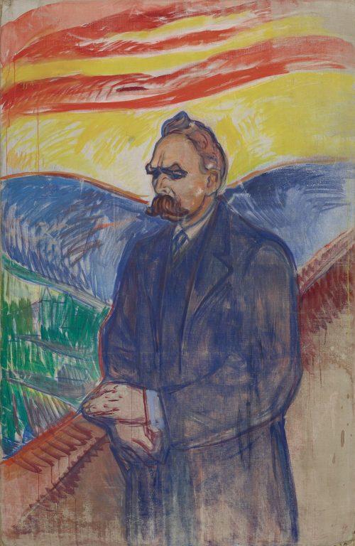 Friedrich Nietzsche. Oil and tempera on canvas, 1906-min (2)
