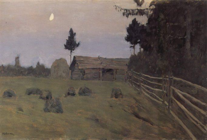 the dusk. 1900. levitan