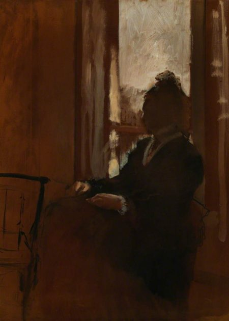 Degas, Edgar; Woman at a Window; The Courtauld Gallery; http://www.artuk.org/artworks/woman-at-a-window-207115