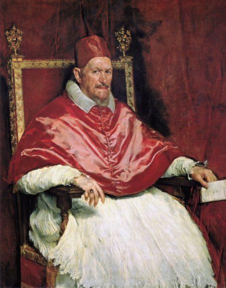 دیهگو ولاسکز، پاپ اینوسنت دهم، ۱۶۵۰ میلادی
