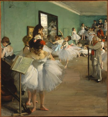 The Ballet Class (French: La Classe de danse) is a painting by Edgar Degas, which was painted between 1871 and 1874. It is in the collection of the Musée d'Orsay, Paris, France