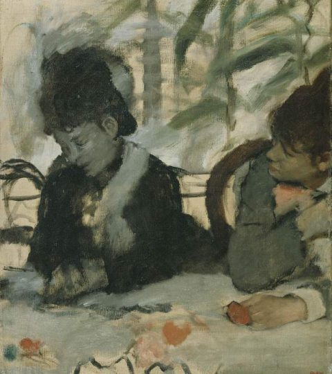 Edgar Degas (1834 -1917), At the Café